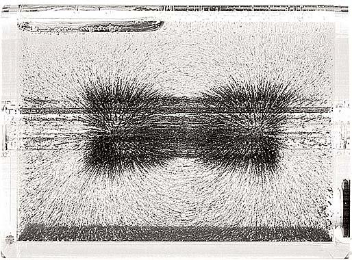 3-D magnetvälja demonstreerija