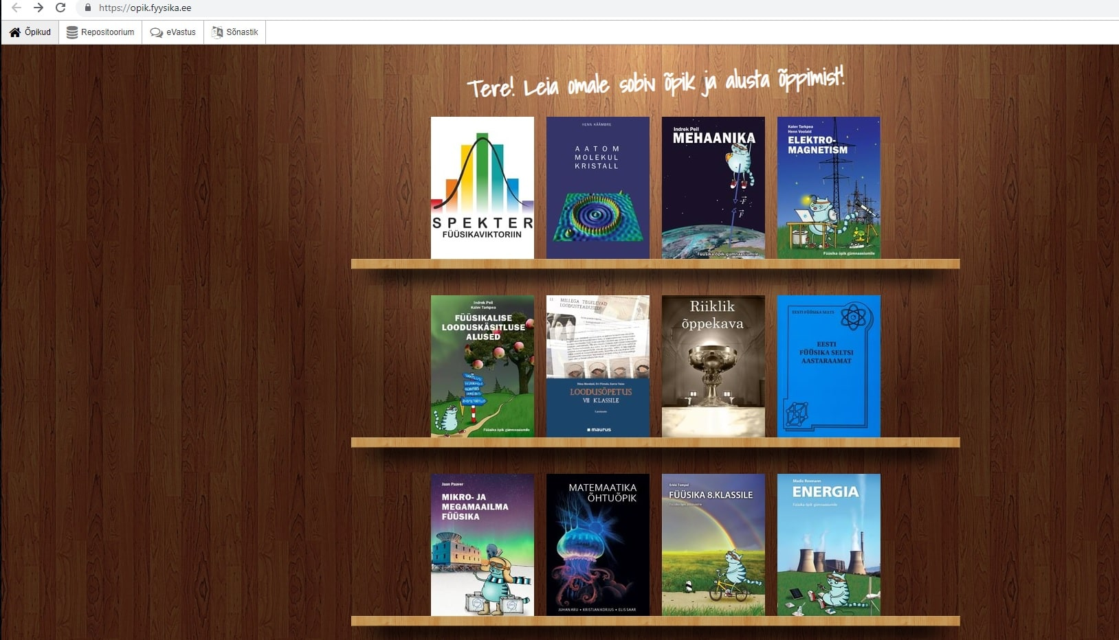 Physics e-textbook material